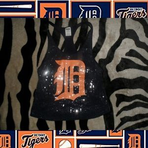 Victorias Secret PINK Detroit Tigers Tanktop